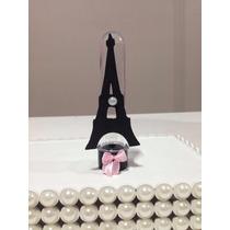 Torre Eiffel/ Barbie Paris Tubetes Personalizado Kit Com 20