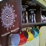 Repisa Estante Organizador Mandala