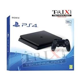 Playstation Ps4 Slim 500gb - Ultimo Modelo - Mar Del Plata