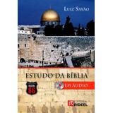 Estudo Da Bíblia Em Áudio - Rota 66 - Contém 13 Cds