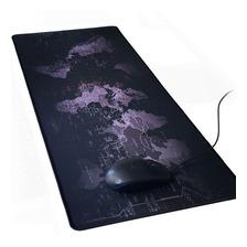 Mouse Pad Gaming Mapamundi Extra Grande Para Gamer