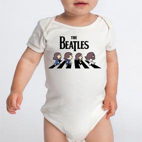 Body Banda Rock The Beatles Divertidos Bodies Bebe