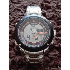 Reloj Digital-analogo Acero Inox Joefox Modelo 2