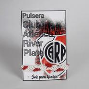 Pulsera River - Pulsera Futbol Argentino - Brazalete River