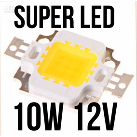 Chip Power Led 10w Branco Frio Refletor Aquário Aquarismo