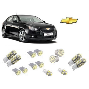 Kit 14 Lampadas Led Pingo Torpedo Re Gm Cruze