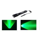 Lanterna Tática Luz Led Verde Foco Redondo P/ Caça Pesca Top