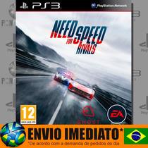 Need For Speed Rivals Ps3 Digital Psn Português Br Promoção