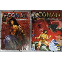 Hq Conan O Bárbaro - Formato Grande - Complete Sua Coleção!!