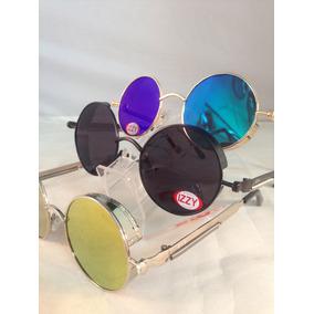 Oculos Redondo Jhon Lennon. Janis Joplin ,de Metal