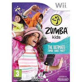 Zumba Kids The Ultimate Dance Party Wii Lacrado E-sedex
