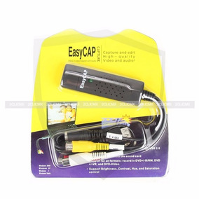 Easycap Adaptador Usb Video Audio Rca S-video 2clicmx