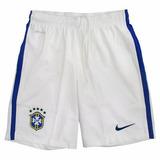 Calção Brasil Nike 575285 Oficial 2 2014 Masculino Original