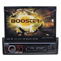 Dvd Retrátil Universal Booster Bluetooth Touch 7 Usb Sd Tv