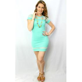 Vestido Juvenil Menta - Holly Fashion Crystal