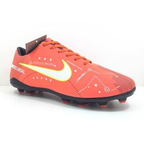 Chuteira Nike Campo Travas Mercurial Neymar Cr7 Oferta