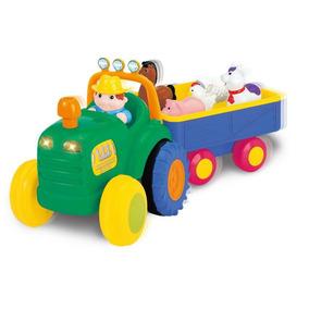 Tractor Con Animales Kiddieland