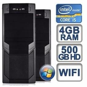 Cpu Core I5 4 Gb Ram 500 Gb ¡calidad Y Durabilidad!