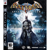 Batman Arkham Asylum Ps3 Digital Tenelo Ya