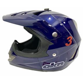 Casco Moto Okn 3 Cross Enduro Motoscba.