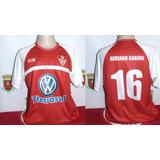 Camisa Do Guarany De Bagé  16 Adriano Gabiru Autografada 728f6ba2510e8