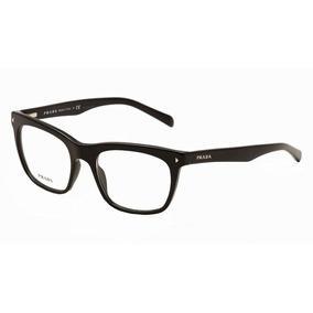 Armação De Óculos Grau Vpr 01 Prada Journal Acetato Luxo