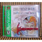 Final Fantasy Origins G.h. - Ps1 Rpg - Square Enix - Nuevo