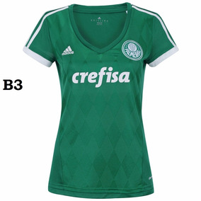 Camiseta Feminina Palmeiras 2017 (personalizada)