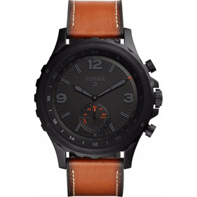 Reloj Fossil Hybrid Smart Watch Nate Q Mod Ftw1114