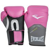 Luva Boxe Muay Elite Pro Style - Everlast Rosa! Oficial!