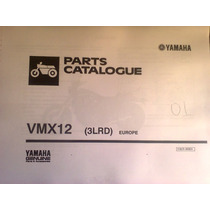 Catálogo De Peças Yamaha V-max, Original, Okm !!