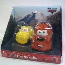 Carros De Vinil - Disney Pixar Embalagem Com 02 Carros