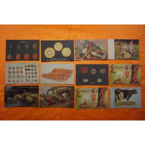 Raro Lote C/ 12 Bilhete Postal Secretaria Da Fazenda Coleção