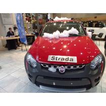 Fiat Strada Pack Xtreme Con Locker 1.6 16v 2016 Rojo #tr2