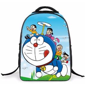 Mochila Escolar Doraemon