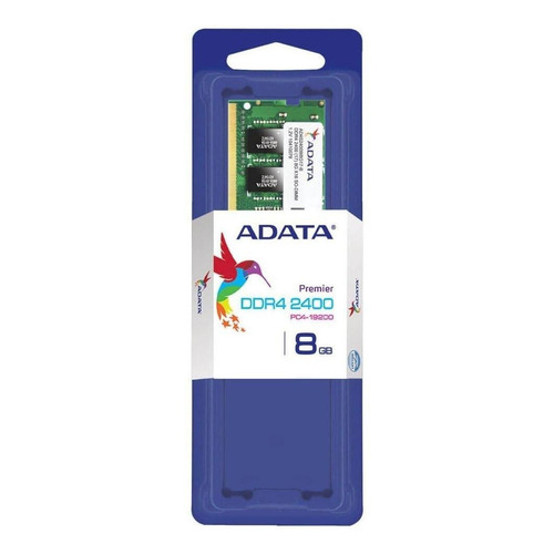 Memoria RAM 8GB 1x8GB Adata AD4S240038G17-S
