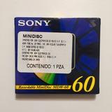Minidisc Sony 60 Minutos Virgen Nuevo Y Sellado