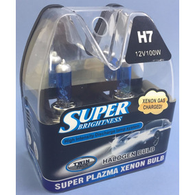 Par De Lâmpadas H7 100w Super Branco 5.000k Frete Grátis