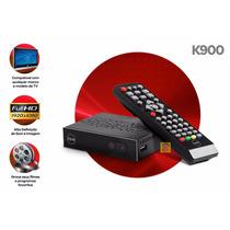 Kit 10 Unid Conversor Digital Atacado Keo K900 Para Revenda