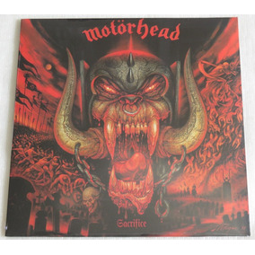 Motorhead Sacrifice Lp Selado Bad Magic What