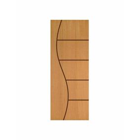 Porta Frisada Semi-oca Cn 08 - 2,10m X 60/70/80cm - Angelim
