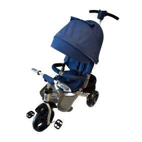 Triciclo 5 En 1 Macilux Para Bebes Azul-rojo - Mod 4016