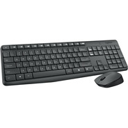 Mouse Y Teclado Inalambrico Combo Logitech Mk235 Pc Led Usb