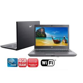 Notebook Intel Atom D525 /hd 320gb/ 4gb Memoria Ram ****