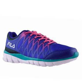 Zapatillas Fila Vertex Mujer Azul
