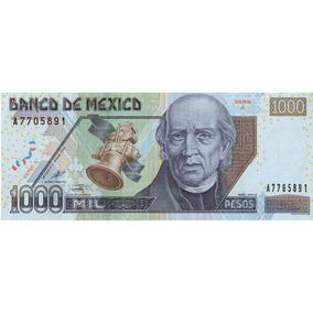 Billete De 1000 Pesos D1 Año 2002 Sin Circular