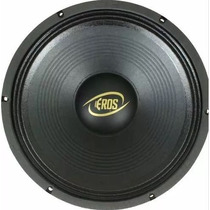 Woofer E12 450 Lc Black 4 - 12 450w Rms 4ohms - Eros