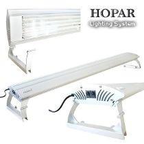 Luminária Hopar P/ Aquários, 4 Lampadas T5 De 80w 150cm 220v