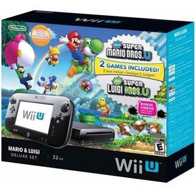 Console Wii U Deluxe New Super Mario Bros U & Super Luigi