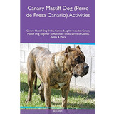 Canary Mastiff Dog (perro De Presa Canario) Activities Cana